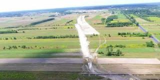 Embedded thumbnail for 30.07.2018 - Widok na stanowisko archeologiczne i przebieg trasy S 17 w miejscowości Gadka.