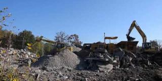 Embedded thumbnail for 12-10-2018 - Widok na teren budowy DK 17 w miejscowości Bocian