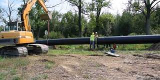 Embedded thumbnail for 17-08-2018 - Prace przygotowawcze przy przebudowie gazociągu wysokiego ciśnienia w km. 0+793 projektowanej DK 50.