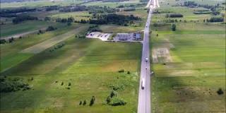 Embedded thumbnail for 24.05.2018-Ogólny widok na przebieg trasy S17-obwodnica Kołbieli